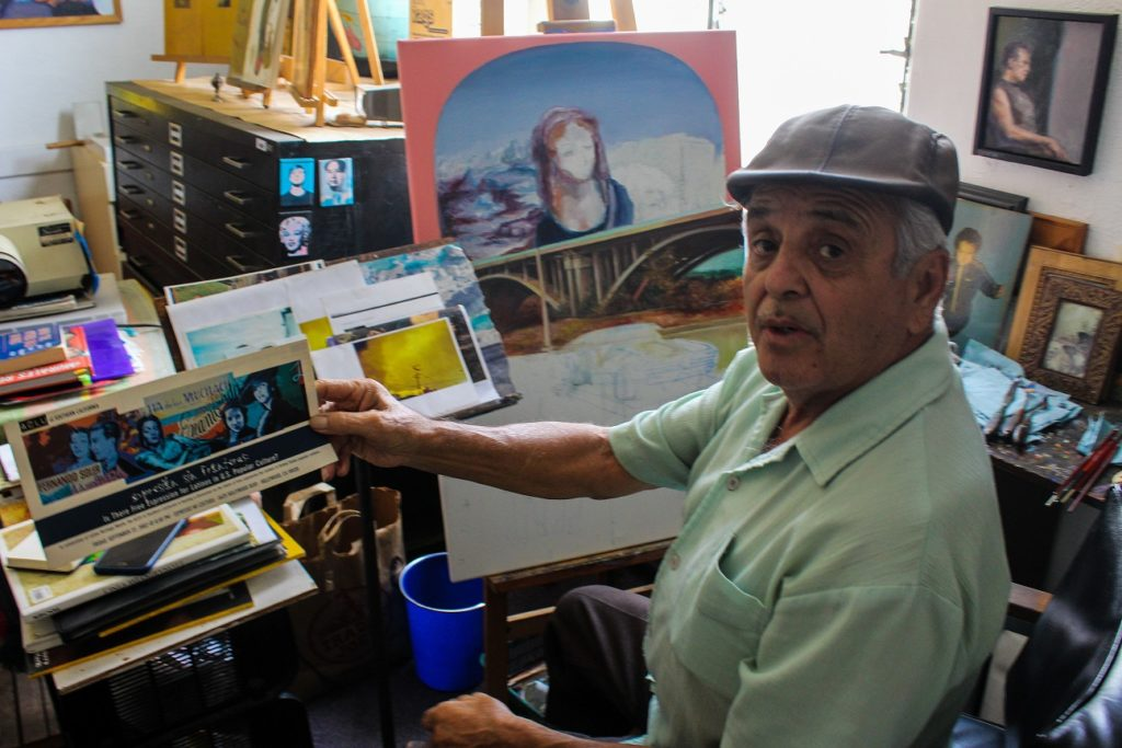 Ernesto De La Rosa discusses his work that has spanned over three decades