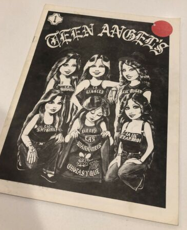 Teen Angels Magazine was a Chicano magazine