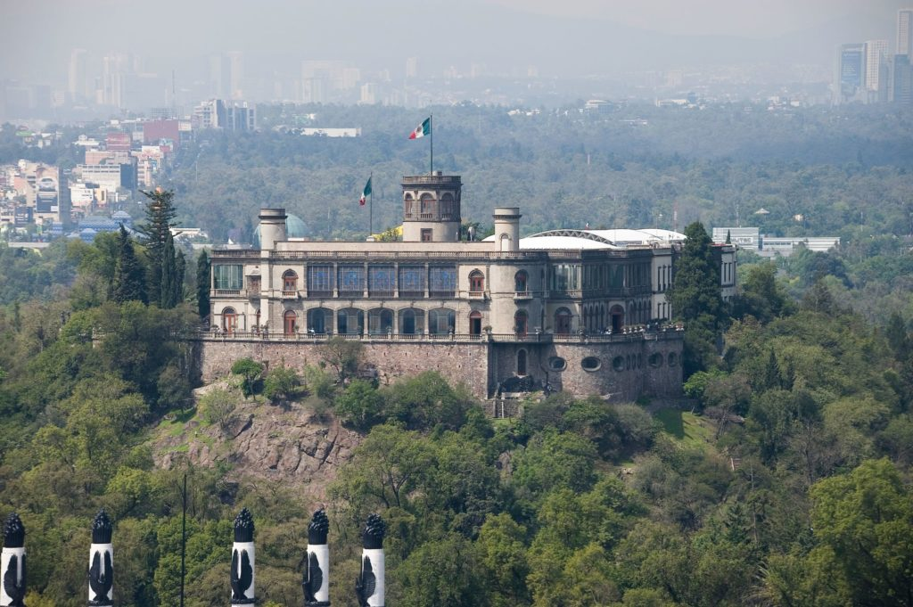 The castle where the battle of Chapultepec took place