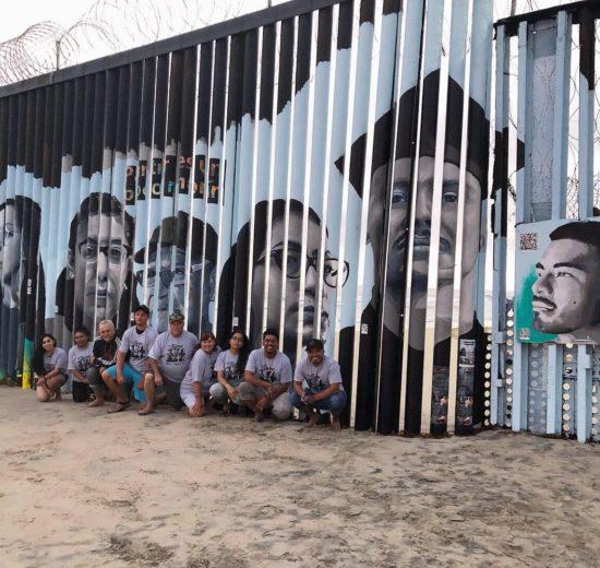 playas de tijuana mural