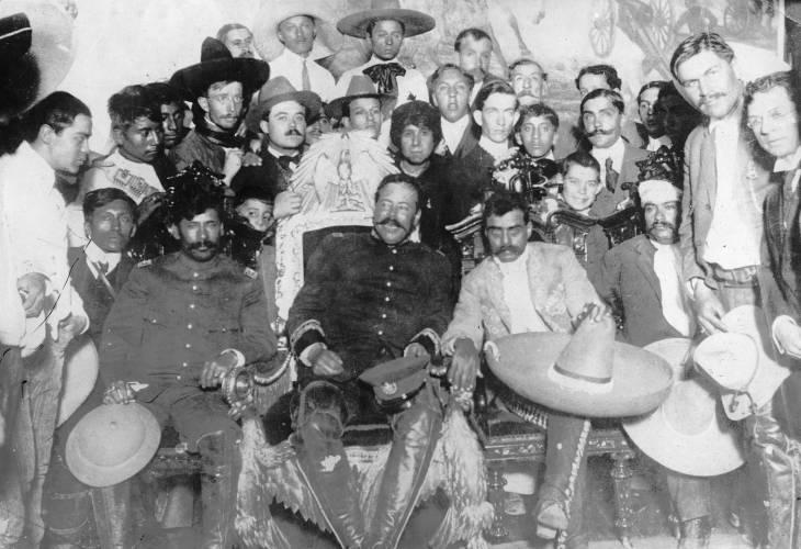Francisco Pancho Villa and Emiliano Zapata.