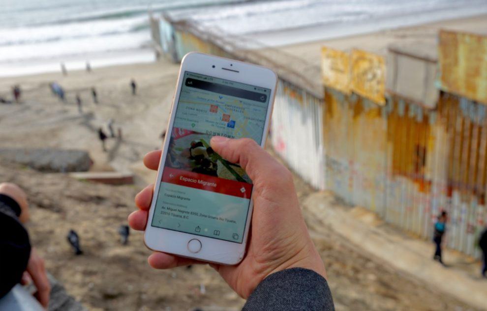 Migrimap Tijuana Border migrant resource project